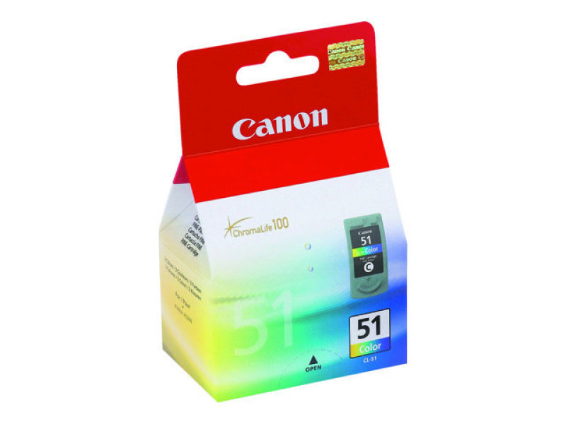Canon Cl-51 Colour Ink 0618b001