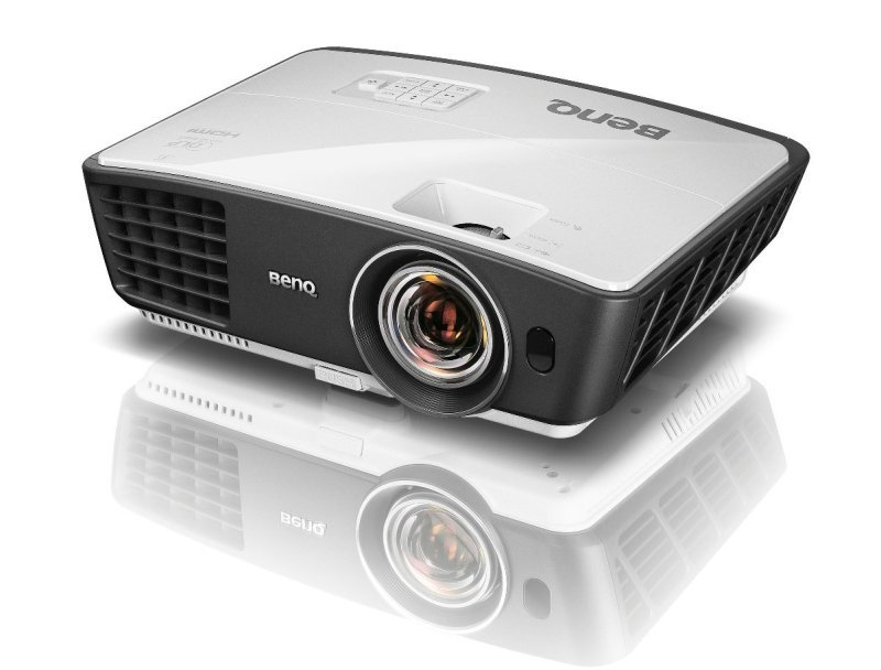 BenQ W770ST Short Throw 3D 720p HD DLP Home Theater Projector