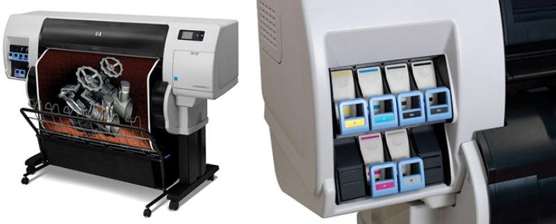 HP Designjet T7100 Large Format Printer