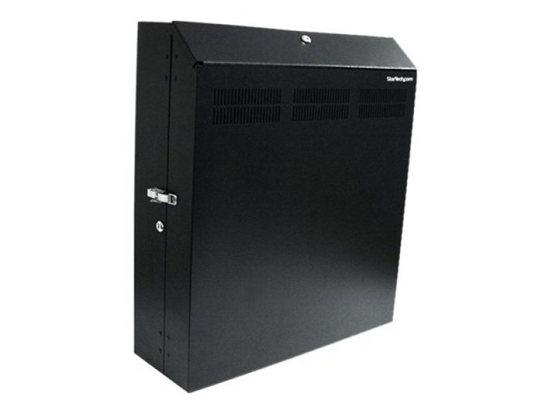 StarTech.com 4U 19in Secure Horizontal Wall Mountable Server Rack - 2 Fans Included