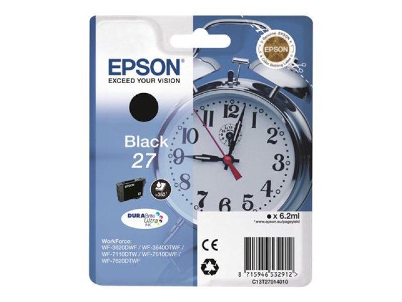 Epson 27 DURABrite Ultra Inkjet Cartridge - Black