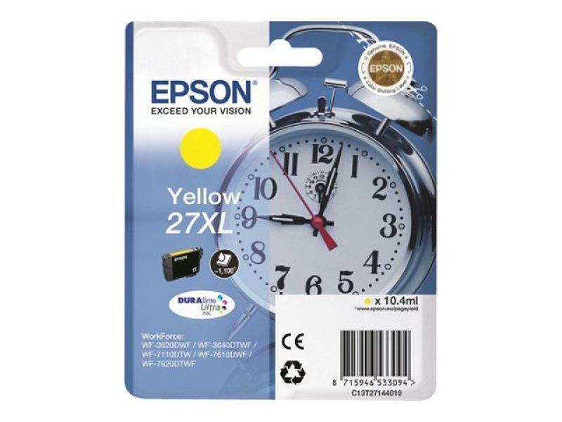 Epson 27XL DURABrite UltraInk Yellow Ink Cartridge