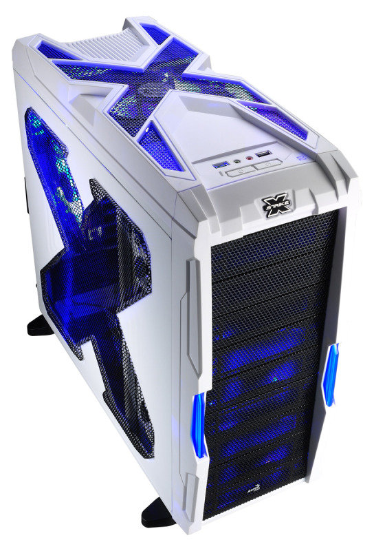 Aerocool Strike-X Advance White Mid-Tower Gaming Case USB3 Toolless