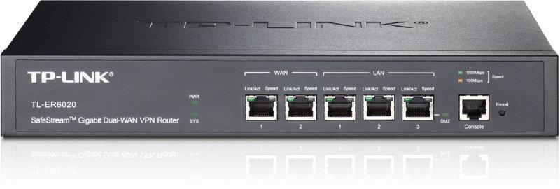 TP-Link Tl-er6020 Safestream Gigabit Dual-Wan VPN Router