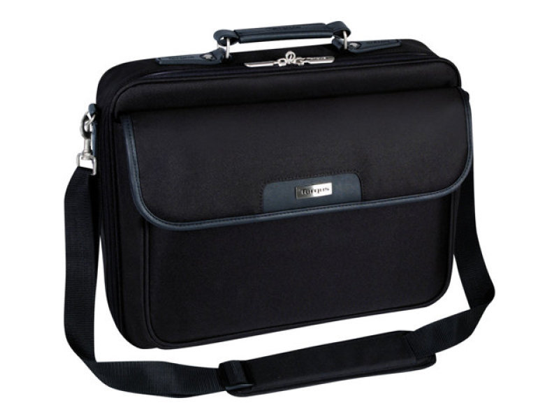 Targus CN01 Notepac Carry Case Nylon Black for up to 15.4&quot Laptops