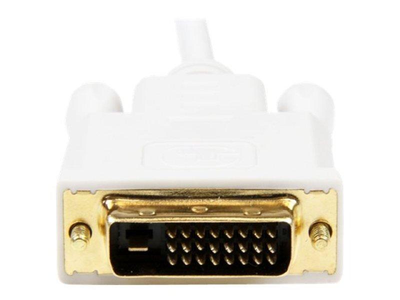 StarTech.com 6ft Mini DisplayPort to DVI Adapter Cable Mini DP to DVIWhite