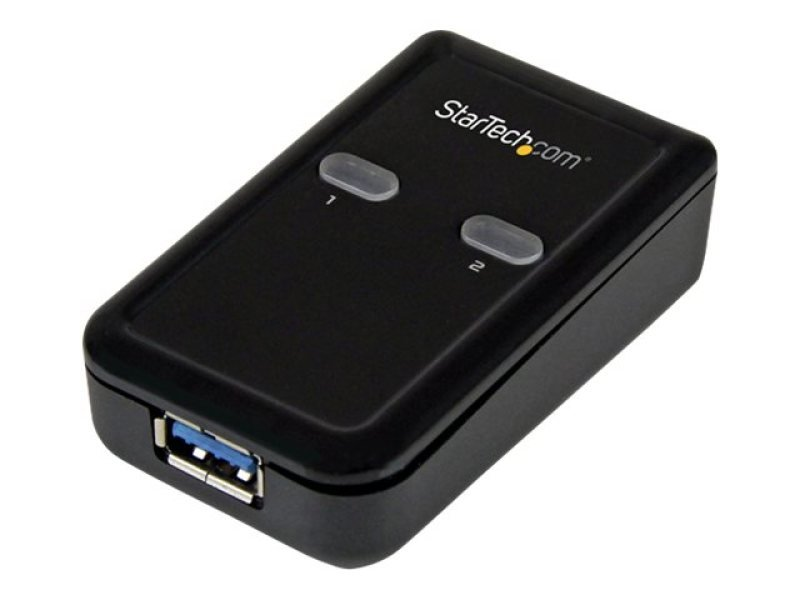 StarTech.com 2 Port 2-to-1 USB 3.0 Peripheral Sharing Switch - USB Powered