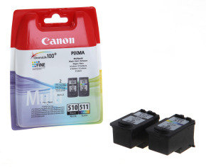 Canon PG-510/ CL-511 Multipack Ink Cartridges