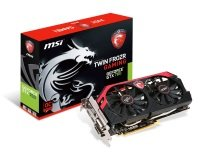 MSI GTX 760 TwinFrozr OC 2GB GDDR5 Dual DVI HDMI DisplayPort PCI-E Graphics Card