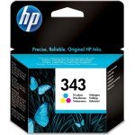 HP 343 Tri-Colour Original Ink Cartridge - Standard Yield 330 Pages - C8766EE