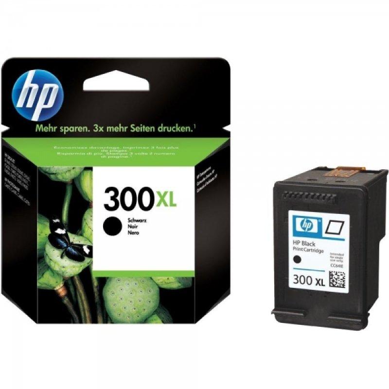 HP 300XL Black OriginalInk Cartridge - High Yield 440 Pages - CC641EE
