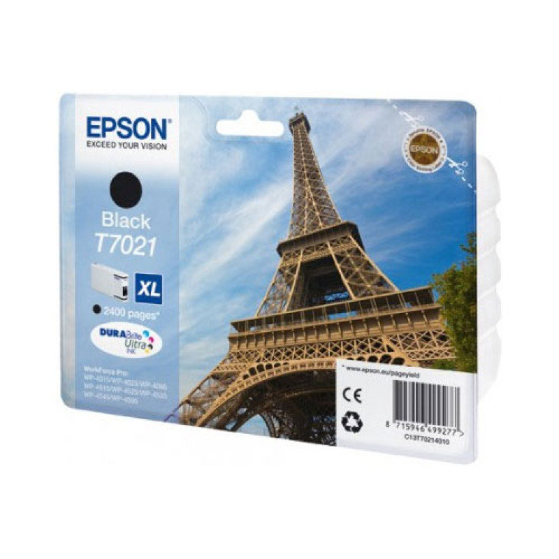 Epson T7021 Black XL Ink Cartridge