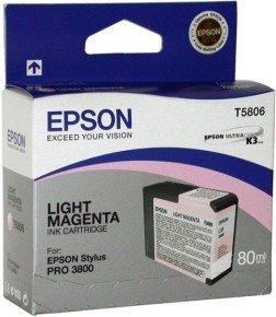 Epson T5806 80ml Light Magenta Ink Cartridge