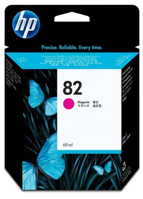 HP 82 Magenta OriginalInk Cartridge - High Yield 69ml - C4912A