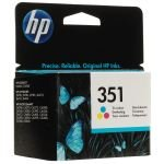 HP 351 Colour Ink Cartridge - 170 Pages - CB337EE