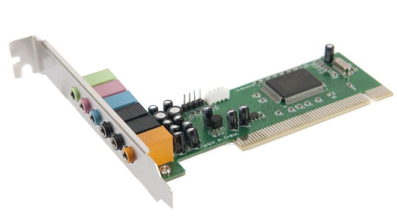 Xenta 8 Channel Soundcard C-media 8768 Chipset 3D - PCI