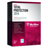 McAfee Total Protection 2014- 3 USER