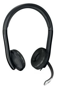 Microsoft Stereo LifeChat LX-6000 Headset USB Connectivity