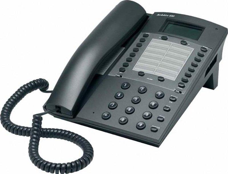 Image of ATL Berkshire 600 Corded Phone - Dark Grey
