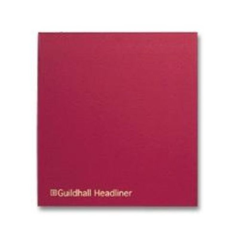 Guildhall Headliner Book 48 Series 21 Columns  80 Pages