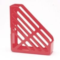 Q CONNECT MAGAZINE RACK RED