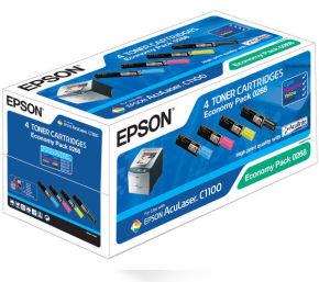 Epson C1100 Economy Colour Multipack Toner