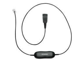 Jabra GN1200 Smart Cord Headset cable - Black