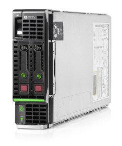 HPE ProLiant BL460c Gen8 E5-2609 2.40GHz 4-core 1P 16GB-R P220i SFF Server