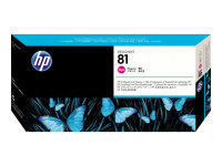 HP 81 Magenta Printhead and Cleaner - C4952A