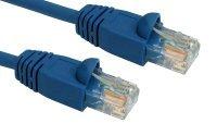 Cables Direct Patch cable - RJ-45 (M) - RJ-45 (M) - 3 m - UTP - ( CAT 6 ) - molded - blue