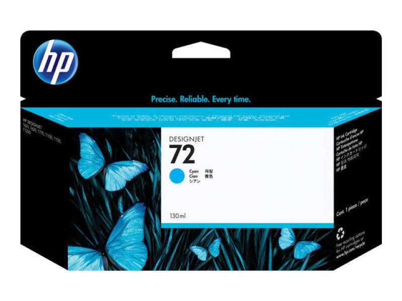 HP 72 Cyan Original Ink Cartridge - High Yield 130ml - C9371A