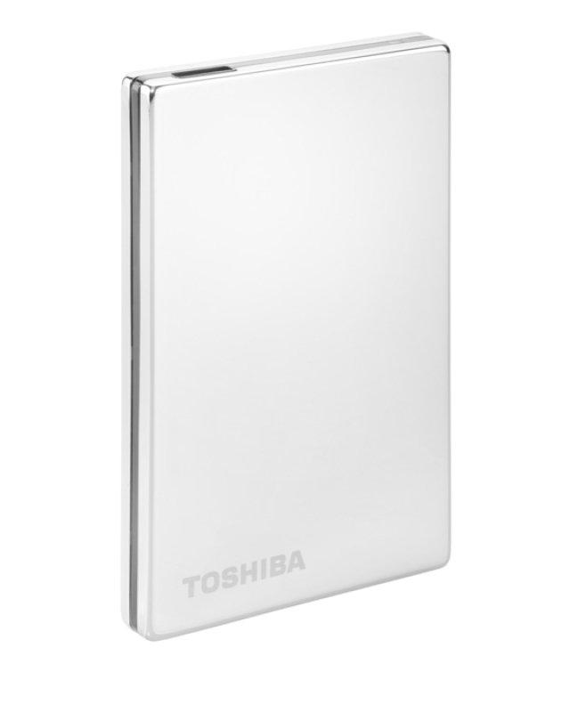500GB Toshiba STOR.E Steel S Portable Hard Drive