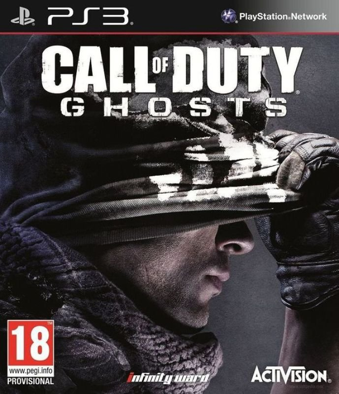 Image of Call of Duty: Ghosts (PS3 version)