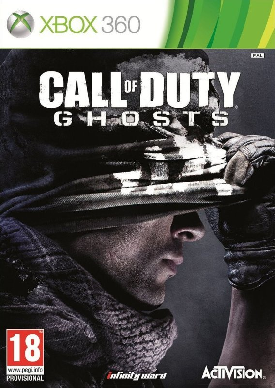 Image of Call of Duty: Ghosts (Xbox 360 version)