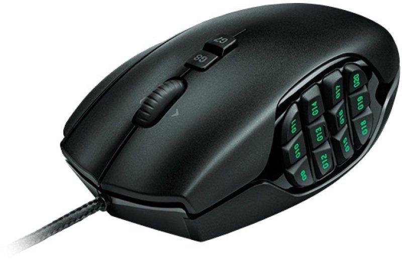 Logitech G600 MMO Gaming Mouse - Black