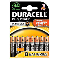 Duracell Plus Power AAA 8pk