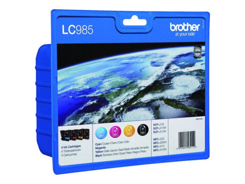 Lc985 Bk/c/m/y Value Pack