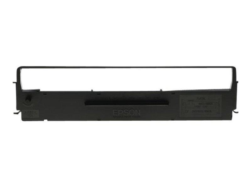 Epson S015613 Black Ribbon Dualpack for LQ300/LQ570/580