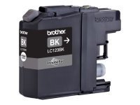 Brother LC-123 Black Inkjet Cartridge (Pack of 2)