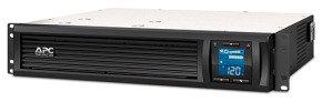 APC Smart-UPS C 900 Watt/1500VA 2U Rack mountable LCD 230V