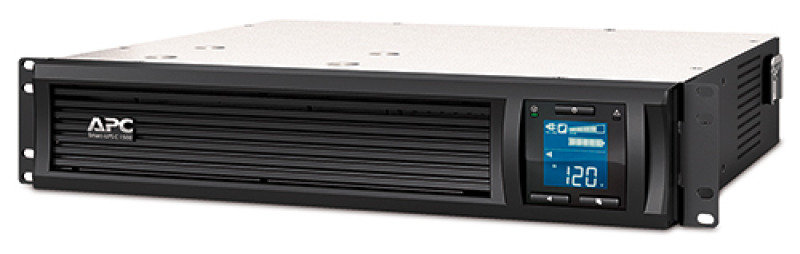 APC Smart-UPS C 900 Watt/1500VA 2U Rack mountable LCD 230V