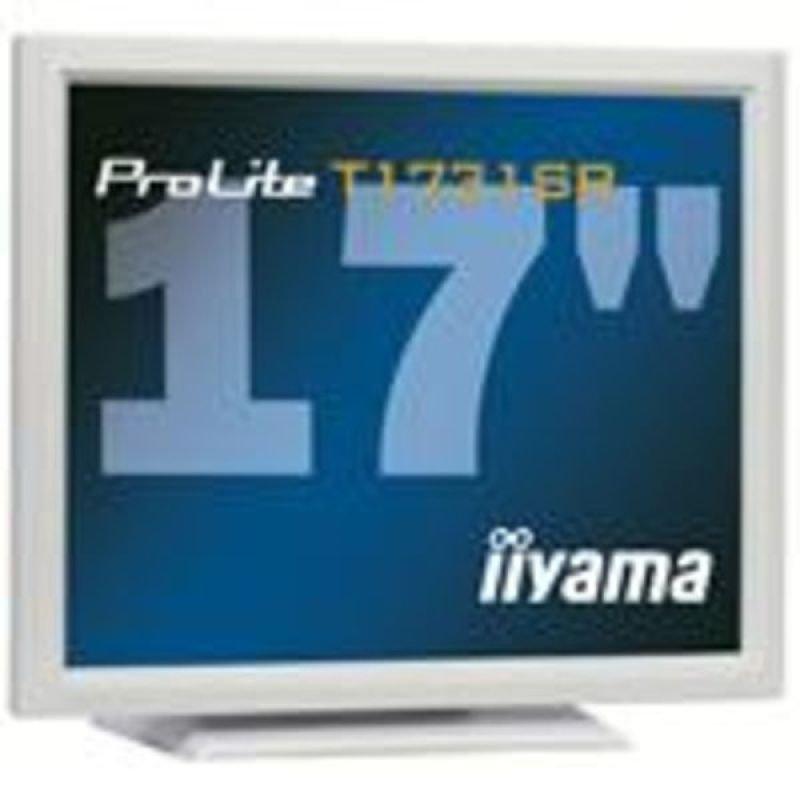 Iiyama T1731SR LCD TFT Touchscreen 17&quot DVI Monitor  White