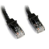 StarTech.com Snagless Cat6 UTP Patch Cable 7.6 m Black