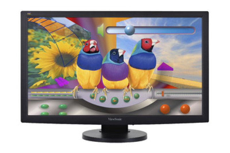 Viewsonic 24&quot LED 5ms Full HD DVI Montior