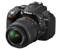 Nikon D5300 SLR Camera with 18-55mm Lens Kit (Black)