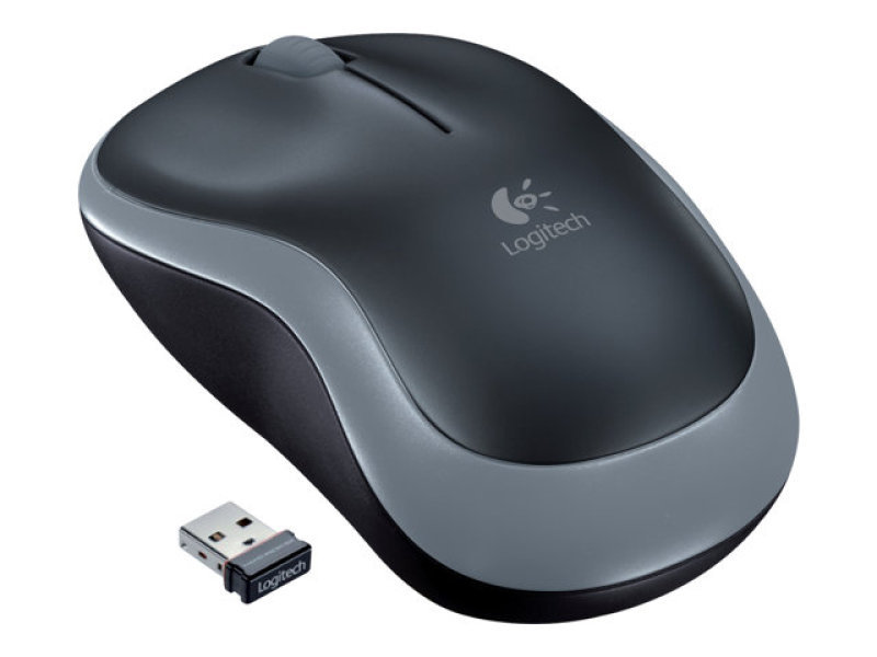 Logitech M185 Wireless Mouse Grey