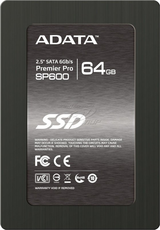 Adata Premier Pro SP600 64GB 2.5inch SSD