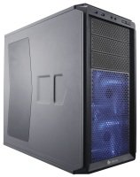 Corsair Graphite Series 230T Compact Mid Tower Case Black with BLUE LED fans