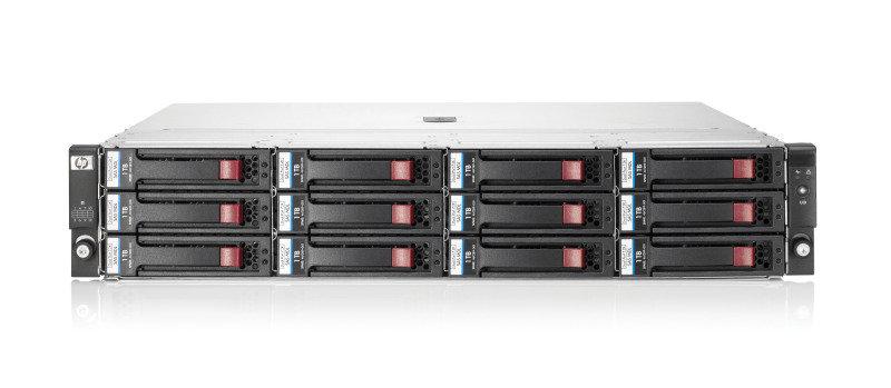 HPE D2600 w/12 3TB 6G SAS 7.2K LFF Dual port MDL HDD 36TB Bundle