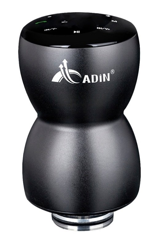Image of Adin 10W Vibration Bluetooth Speaker - Black